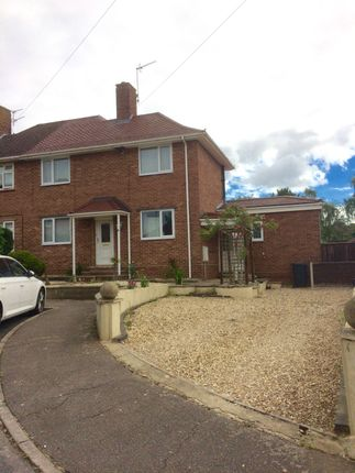 Thumbnail Semi-detached house to rent in Jordan Close, Norwich