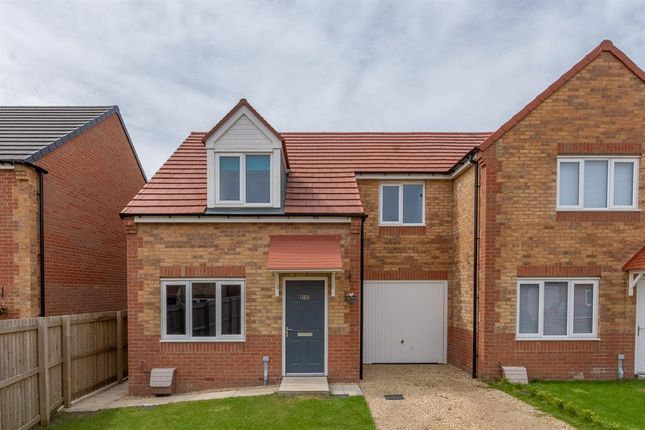 Semi-detached house for sale in Dewhirst Close, Leadgate, Consett