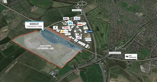 Land to let in Wardley Commerce Park, Follingsby Lane, Wardley Colliery, Gateshead