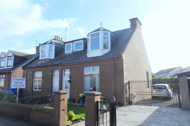 Thumbnail Semi-detached house for sale in Somerset Road, Ayr