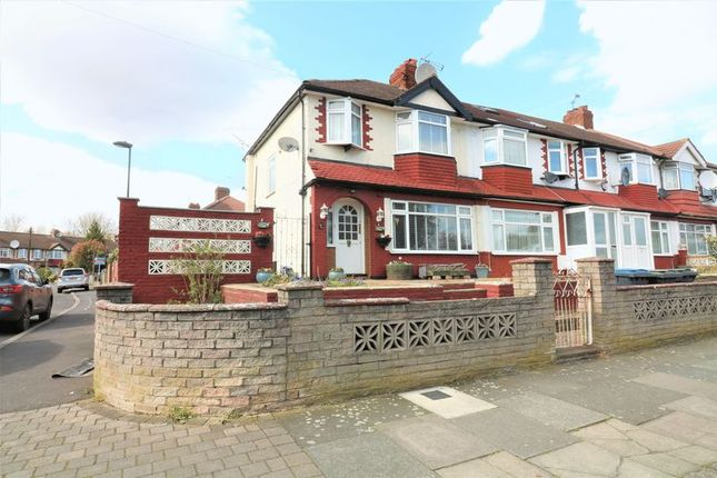 Thumbnail End terrace house for sale in Crescent Road, London