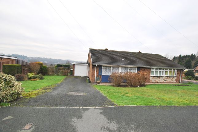 Thumbnail Semi-detached bungalow for sale in Willows Road, Oakengates, Telford, Shropshire