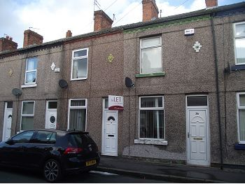 Thumbnail Terraced house to rent in Napier Road, New Ferry