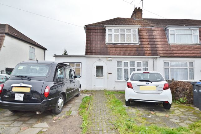 Thumbnail Semi-detached house for sale in Broadlands Avenue, Enfield