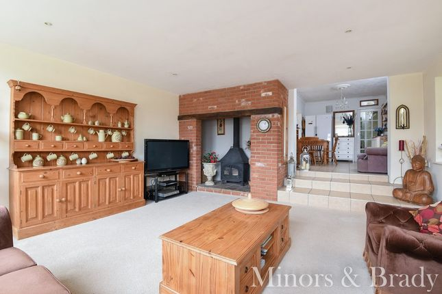 Thumbnail Detached bungalow for sale in Rectory Close, Rollesby, Great Yarmouth