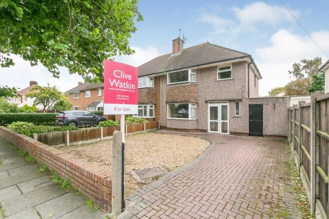 Thumbnail Semi-detached house for sale in Anglesey Road, West Kirby, Wirral, Merseyside