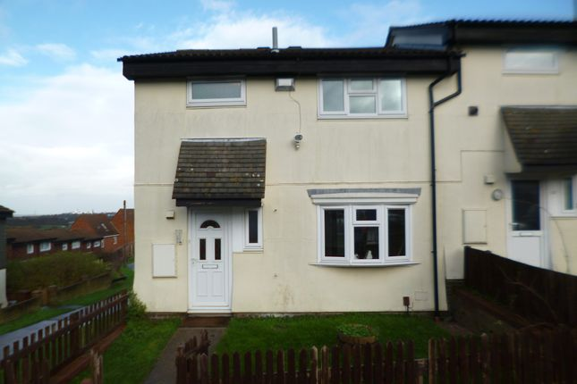 Thumbnail Semi-detached house to rent in Anglesey Close, Chatham