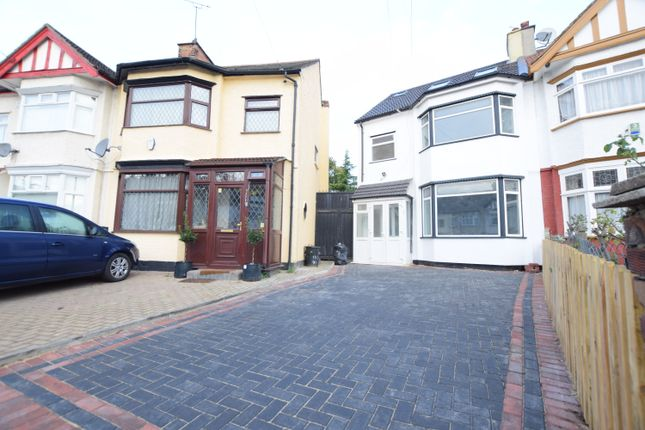 Thumbnail End terrace house to rent in Gantshill Crescent, Ilford