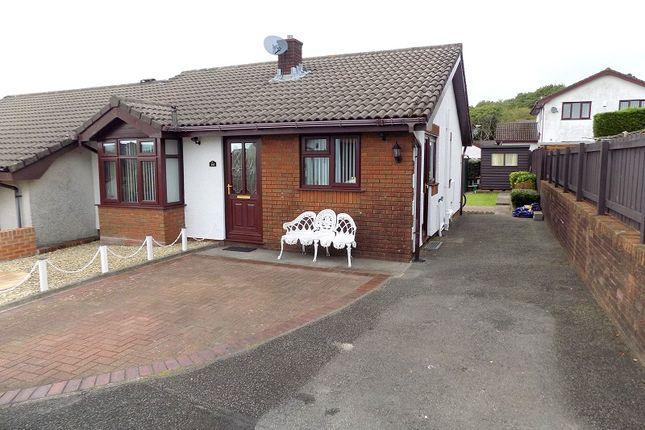Thumbnail Semi-detached bungalow for sale in Mackworth Drive, Cimla, Neath, Neath Port Talbot.