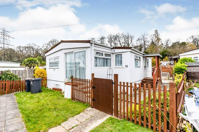 Mobile/park home for sale in Upper Toothill Road, Rownhams, Southampton