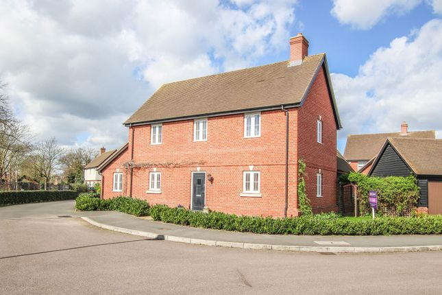 Thumbnail Detached house for sale in Woodpecker Close, Great Barford