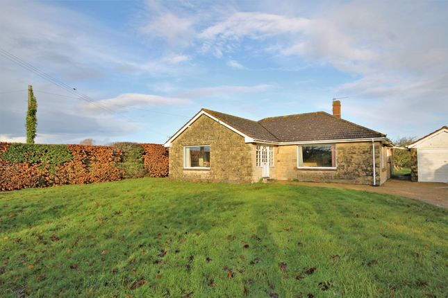 Thumbnail Detached bungalow for sale in Main Road, Wellow, Yarmouth
