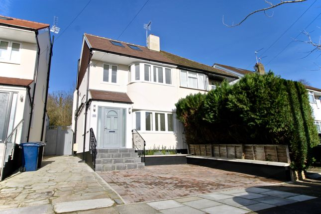Thumbnail Semi-detached house for sale in Grants Close, Mill Hill