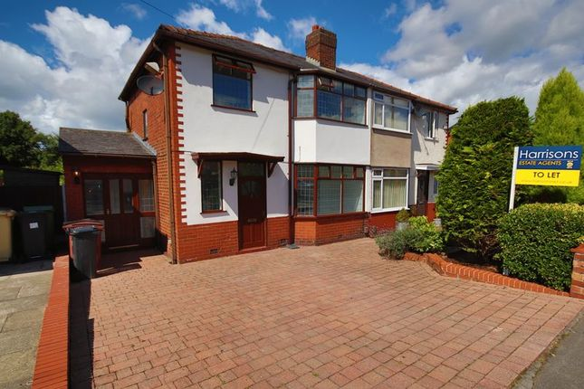 Thumbnail Semi-detached house to rent in Tempest Road, Chew Moor, Leafy Lostock, Bolton, Lancashire.