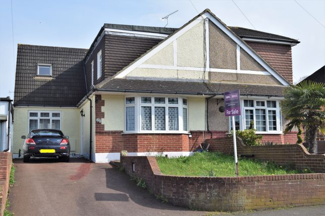 Thumbnail Semi-detached house for sale in Woodlands Road, Gillingham