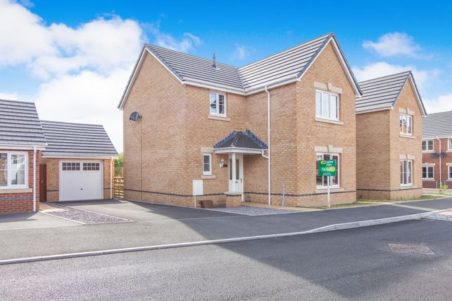 Thumbnail Detached house for sale in St Ilids Meadow, Llanharan, Pontyclun