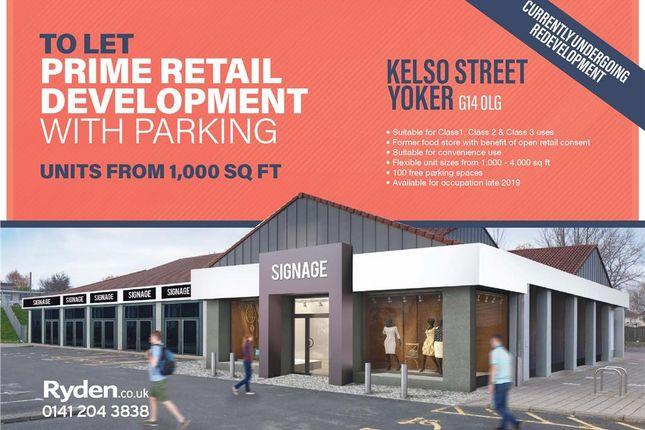 Thumbnail Retail premises to let in Kelso Street, Yoker, Glasgow, City Of Glasgow