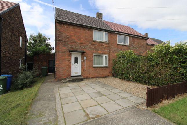 Thumbnail Semi-detached house for sale in Barrasford Road, Cramlington