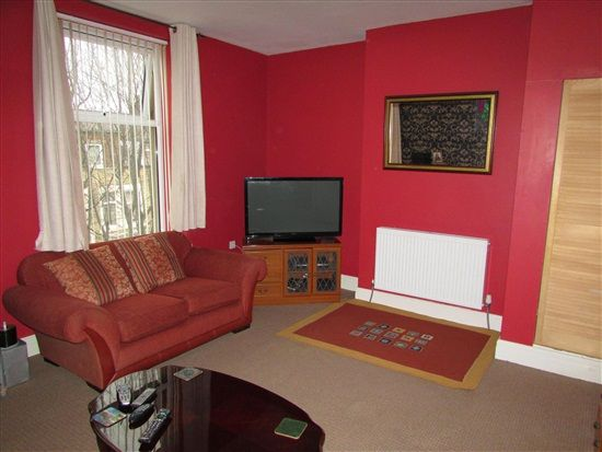 Lounge of Park Street Flat 4, Morecambe LA4