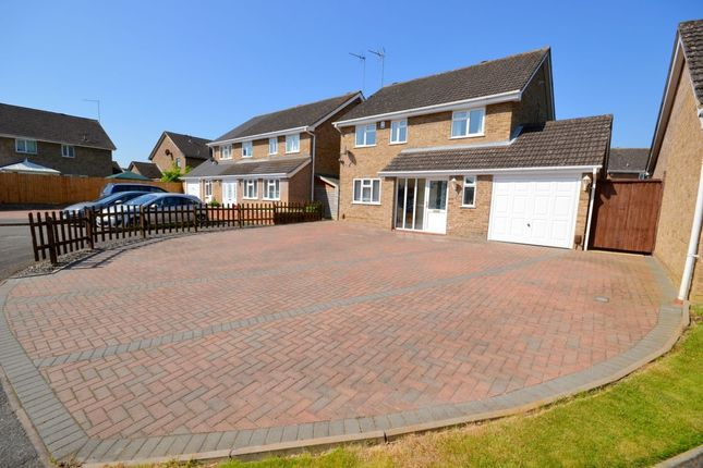 Thumbnail Detached house for sale in Baunhill Close, Langlands, Northampton