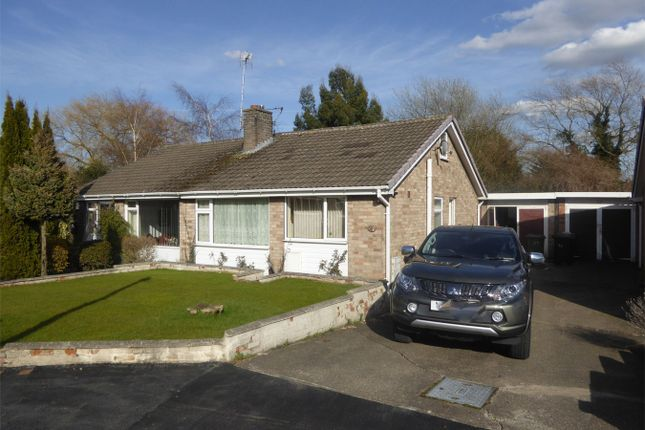 Thumbnail Semi-detached bungalow for sale in Runswick Avenue, Acomb, York