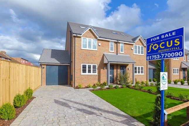 Thumbnail Semi-detached house for sale in Grasmere Avenue, Slough