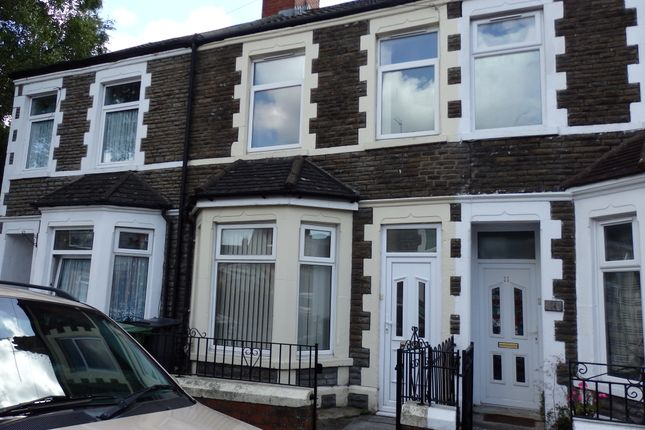 Thumbnail Terraced house to rent in Allensbank Crescent, Cardiff