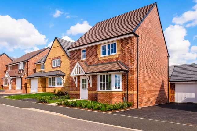"Thumbnail Detached house for sale in ""Chesham"" at Hampton Dene Road, Hereford"