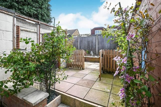 Garden of West Close, Darley Abbey, Derby, Derbyshire DE22