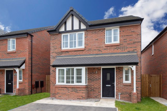 Thumbnail 3 bedroom detached house for sale in Kingfisher Reach, Wistaston Green Road, Wistaston