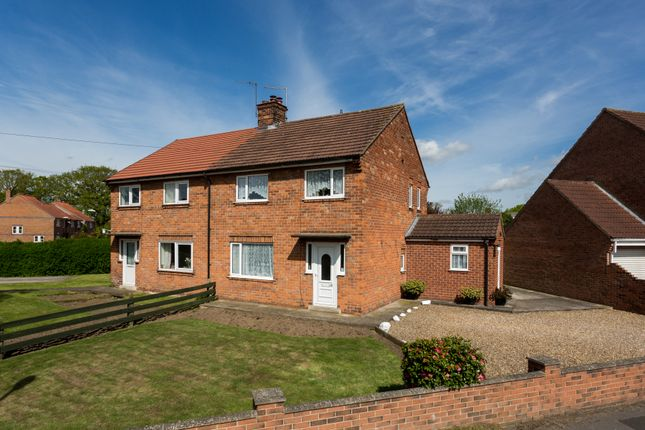 Thumbnail Semi-detached house for sale in Leasmires Avenue, Easingwold, York