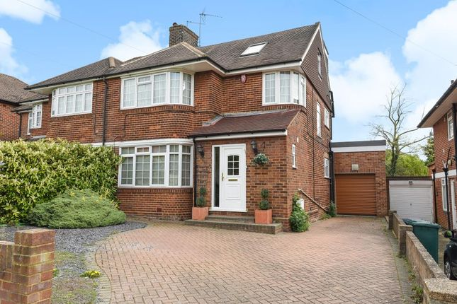 Thumbnail Semi-detached house for sale in Edgware, Middlesex