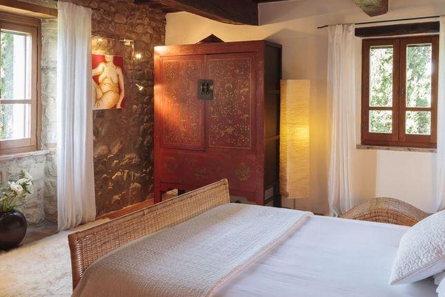 Bedroom of Casa Montecastelli, Umbertide, Umbria