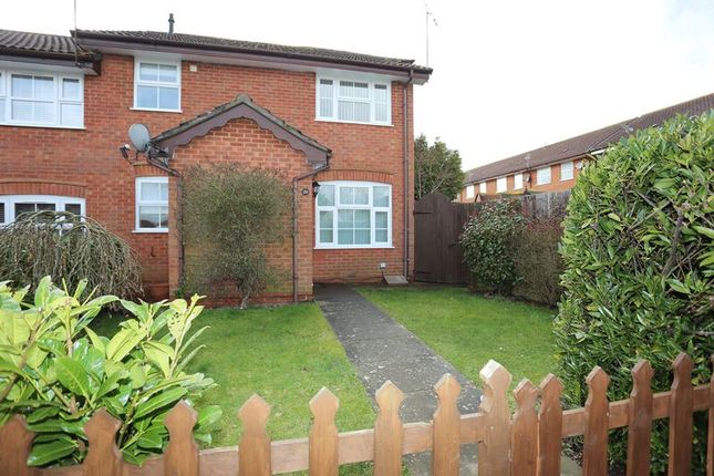 Thumbnail Terraced house to rent in Harvard Close, Woodley, Reading