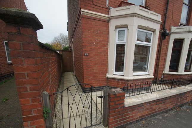 Thumbnail End terrace house to rent in Hugh Road, Coventry