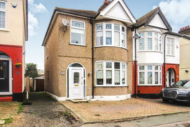 Thumbnail Detached house for sale in Aldborough Road, Upminster