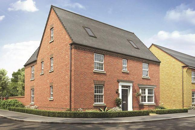 "Thumbnail Detached house for sale in ""Moreton"" at Watling Street, Little Brickhill, Milton Keynes"