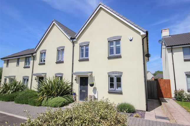 Thumbnail End terrace house for sale in James Counsell Way, Stoke Gifford, Bristol