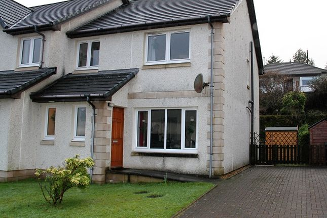 Thumbnail Semi-detached house for sale in St Clair Way, Ardrishaig