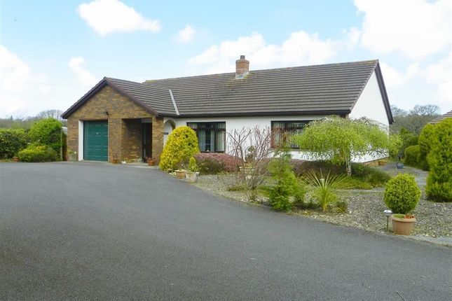 3 bed detached bungalow for sale in Lon Helyg, Llechryd, Cardigan