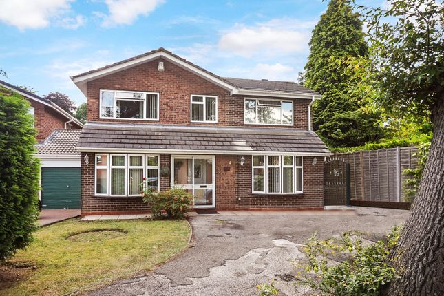 Thumbnail Detached house for sale in Beechglade, Handsworth Wood, Birmingham, West Midlands