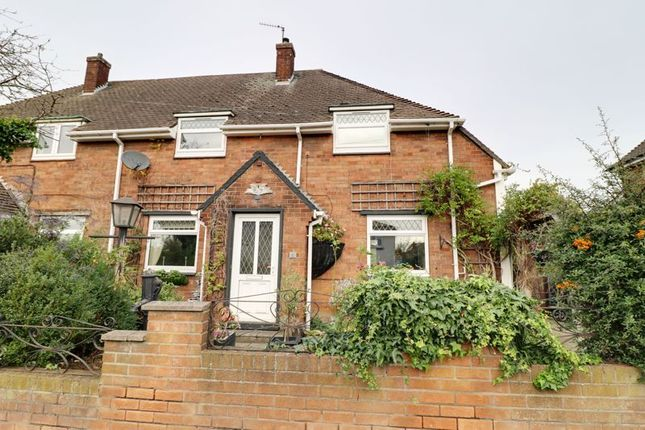 Thumbnail Semi-detached house for sale in Manor Farm Road, Scunthorpe
