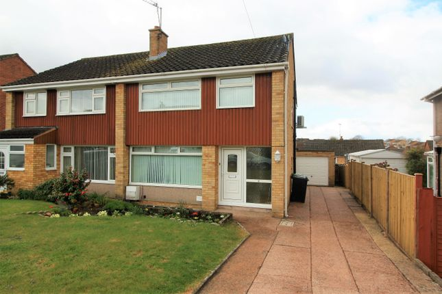 3 bed semi-detached house to rent in Elgar Close, Exeter EX2