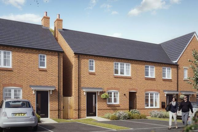 Thumbnail End terrace house for sale in Forester's Gate, Midland Road, Swadlincote