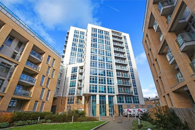 Thumbnail Flat for sale in Iona Tower, 33 Ross Way, London