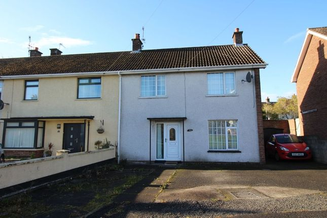Thumbnail Terraced house to rent in Knocksallagh Park, Greenisland, Carrickfergus