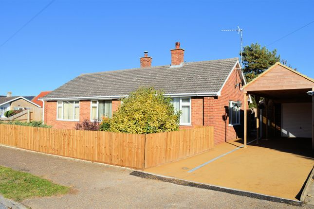 Thumbnail Detached bungalow for sale in St. Marys Close, South Wootton, King's Lynn