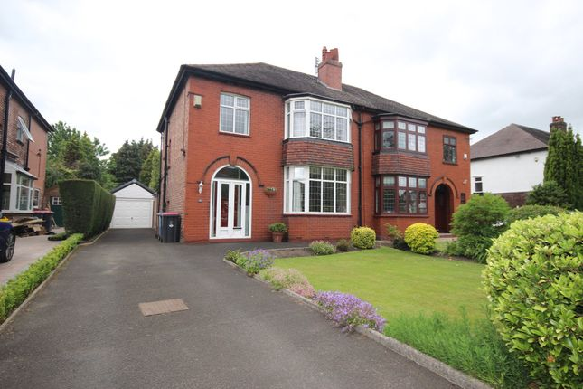 Thumbnail Semi-detached house for sale in Lullington Road, Salford