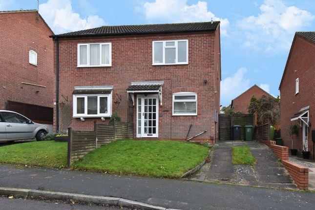Thumbnail Semi-detached house for sale in Sheepcroft Close, Webheath, Redditch
