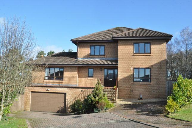 Thumbnail Detached house for sale in Henderland Drive, Bearsden, East Dunbartonshire